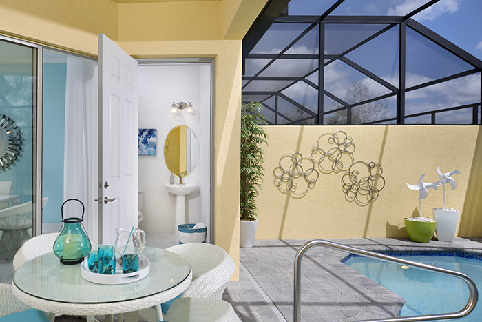 Festival Marvel Pool Bath, Festival, Minto Resorts Davenport, Florida, USA