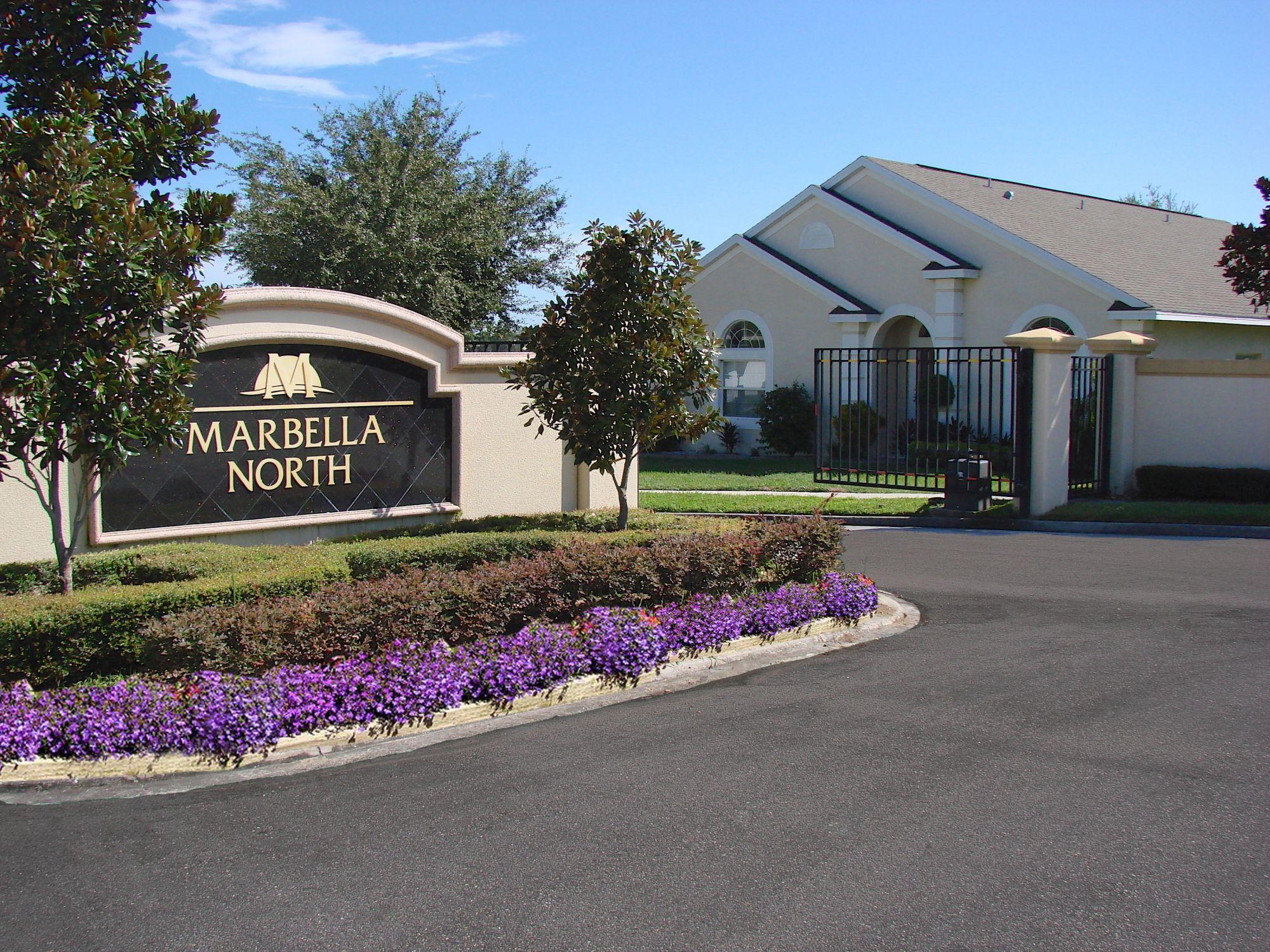 Marbella North Entrance Marbella Resort  Davenport, Florida